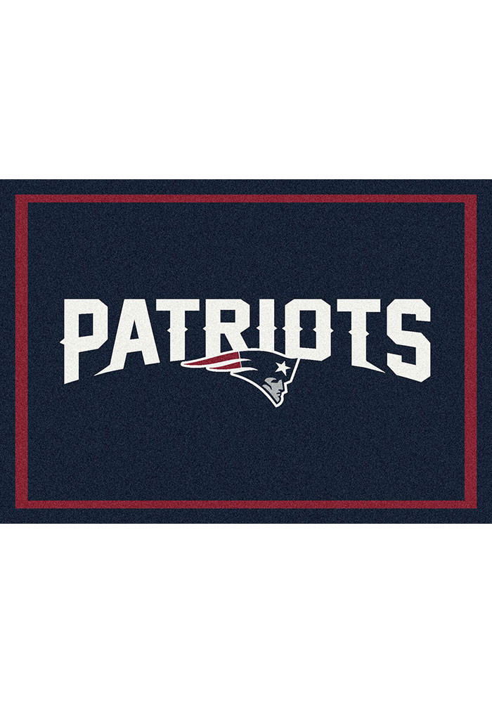 New England Patriots 5x7 Spirit Interior Rug - Image 1