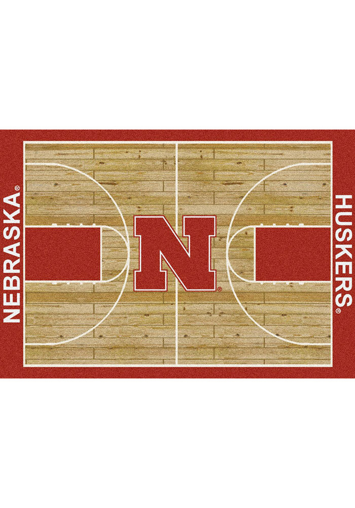 NC State Wolfpack 7x10 Court Interior Rug - Image 1