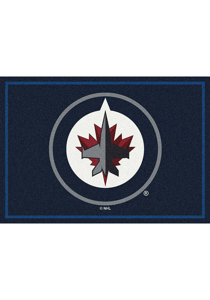 Winnipeg Jets 3x5 Spirit Interior Rug - Image 1
