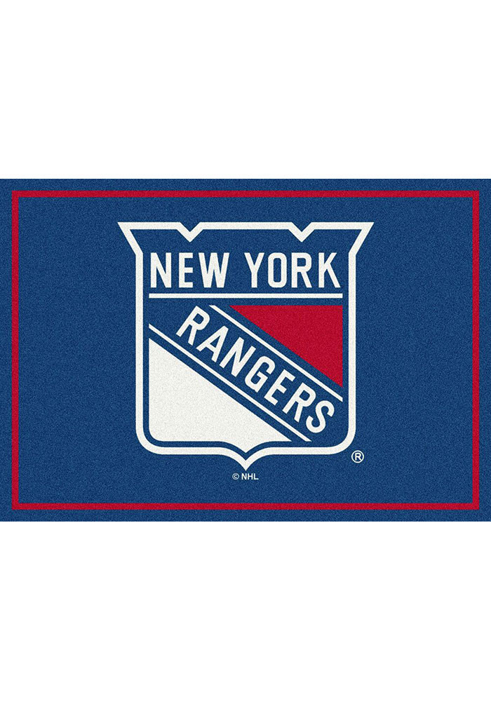 New York Rangers 5x7 Spirit Interior Rug - Image 1