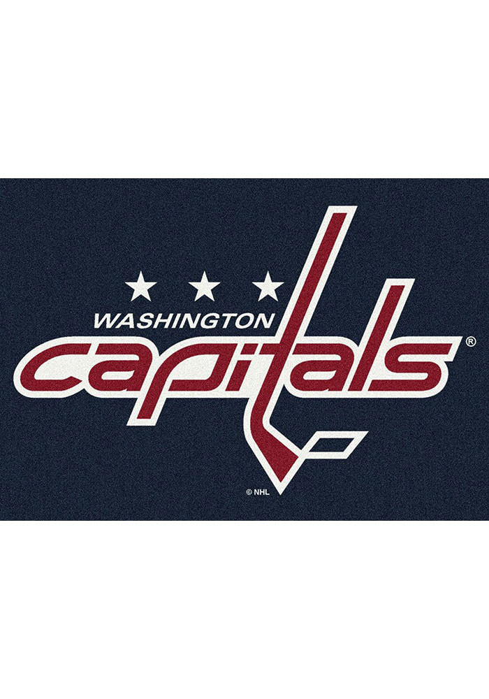 Washington Capitals 7x10 Spirit Interior Rug - Image 1
