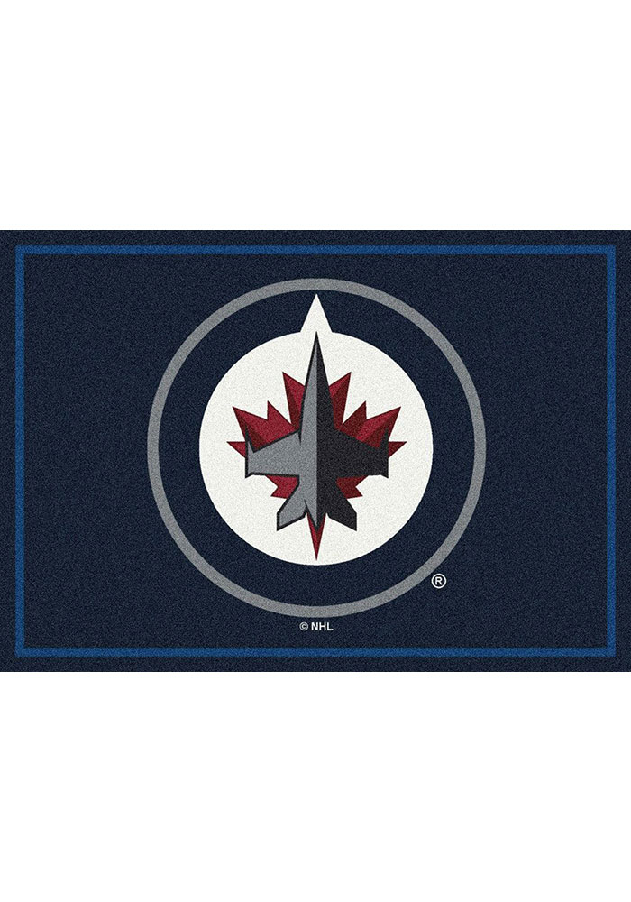 Winnipeg Jets 7x10 Spirit Interior Rug - Image 1