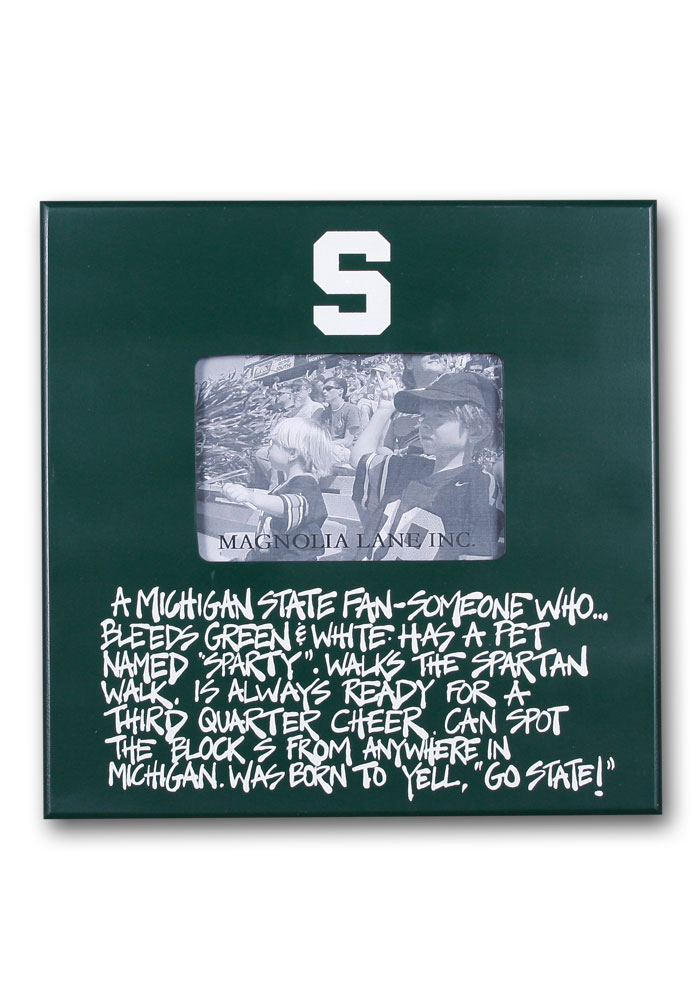 Michigan State Spartans Definition Picture Frame - Image 1