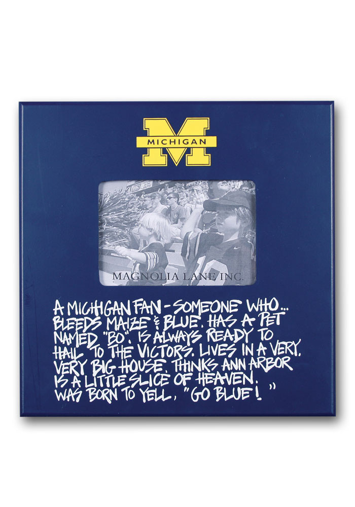 Michigan Wolverines Definition Picture Frame - Image 1