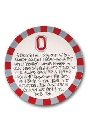 Ohio State Buckeyes Definition Plate