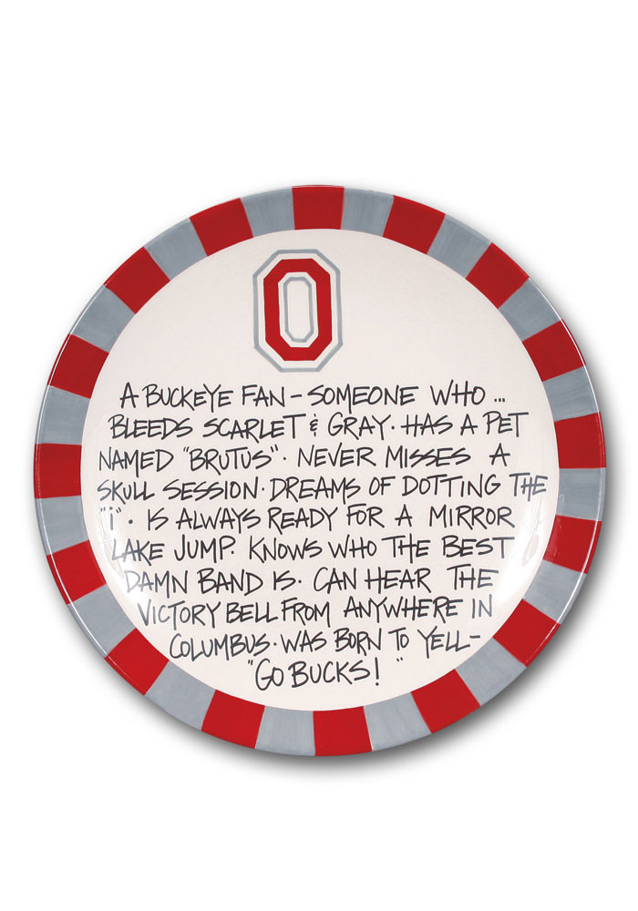 Ohio State Buckeyes Definition Plate - Image 1