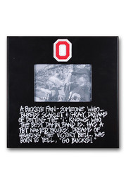 Ohio State Buckeyes Definition Picture Frame