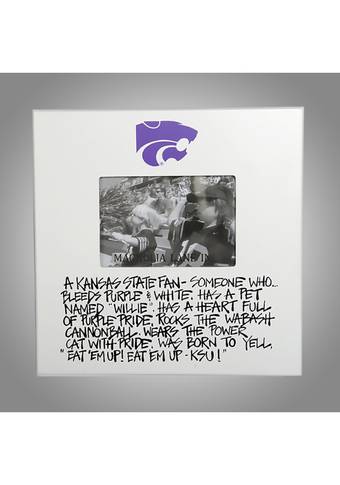 K-State Wildcats 11x11 Defintion Picture Frame - Image 1