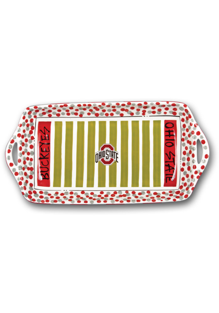Ohio State Buckeyes Stadium Serving Tray - Image 1