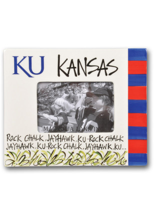 Kansas Jayhawks Team Slogan Picture Frame