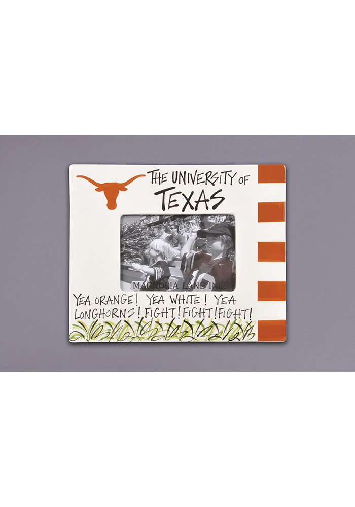Texas Longhorns 9x11 Striped Picture Frame - 24010234