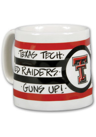 Texas Tech Red Raiders 16oz Stripe Mug
