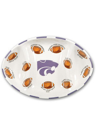 K-State Wildcats Football Serving Tray