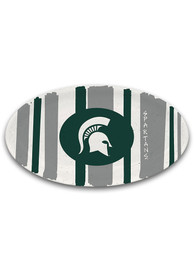 Michigan State Spartans 6.75 x 12.25 Oval Melamime Serving Tray