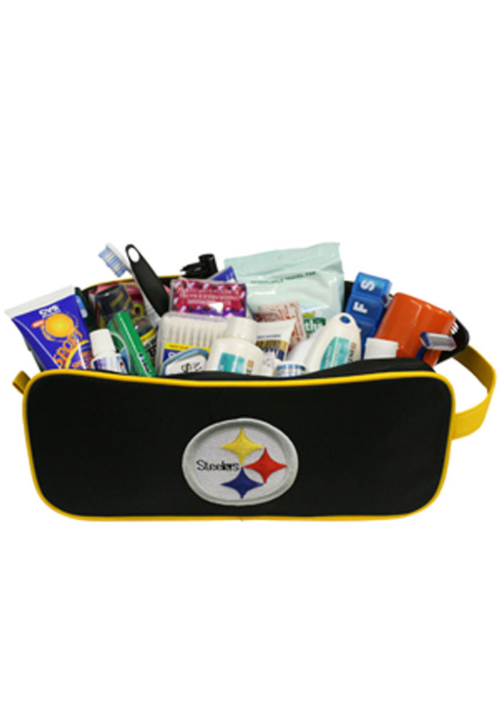 Pittsburgh Steelers Travel Mens Shave Kit - Image 1