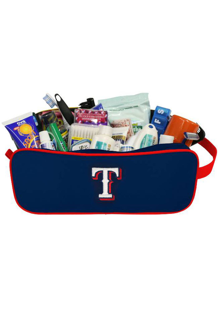 Texas Rangers Team Logo Mens Shave Kit - Image 1