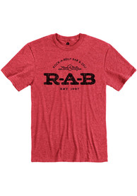 Rock-A-Belly Deli Red RAB Logo Short Sleeve T-Shirt