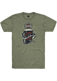 Mother's Brewing Company Heather City Green Cobra Scare Short Sleeve T-Shirt