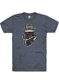 Mother's Brewing Company Heather Navy Cobra Scare Short Sleeve T-Shirt