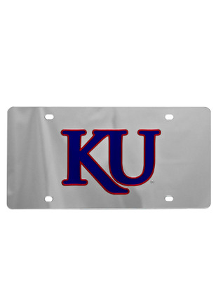 Kansas Jayhawks Trajan KU Car Accessory License Plate