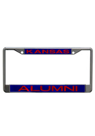 Kansas Jayhawks Alumni Chrome License Frame