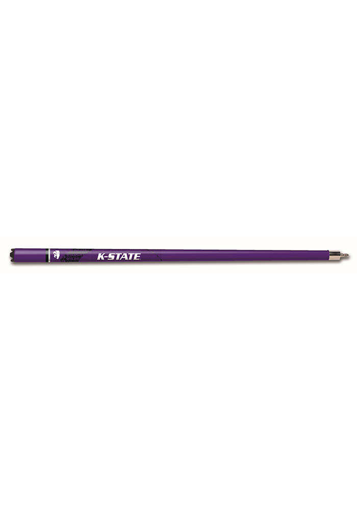 K-State Wildcats Blizzard Pool Cue - Image 1