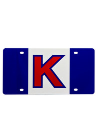 Kansas Jayhawks Game Day Flag Car Accessory License Plate