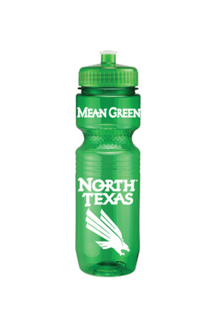 North Texas Mean Green Opaque Jogger Water Bottle
