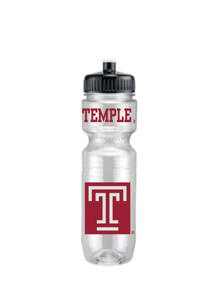 Temple Owls Translucent Jogger Water Bottle