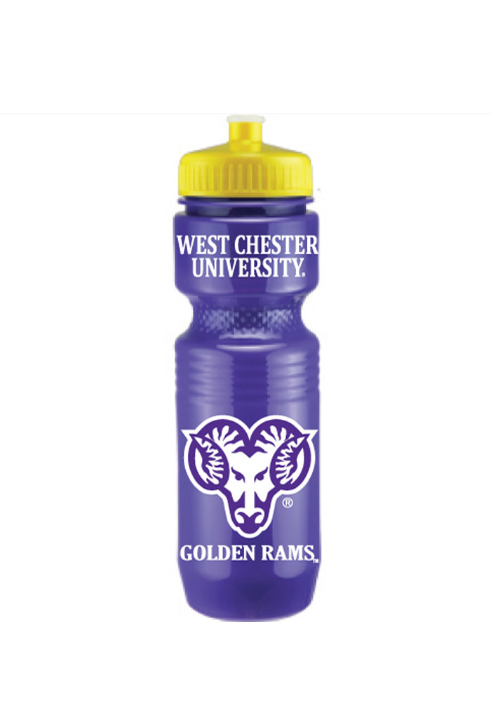 West Chester Golden Rams Opaque Jogger Water Bottle - Image 1