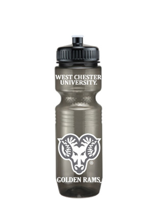 West Chester Golden Rams Translucent Jogger Water Bottle