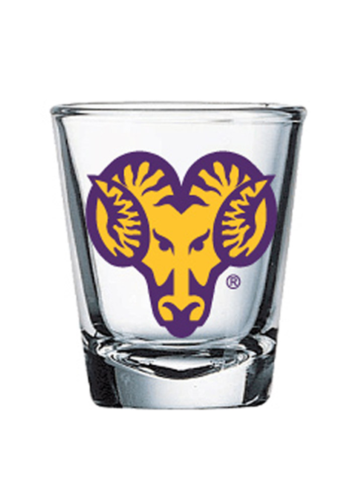 West Chester Golden Rams 1.5oz 2-Sided Shot Glass - Image 1