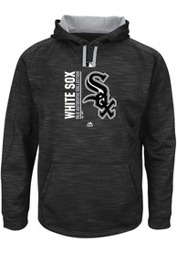 cheap for discount bf2c2 eb5c7 Chicago White Sox Black On-Field Tech Hooded Sweatshirt