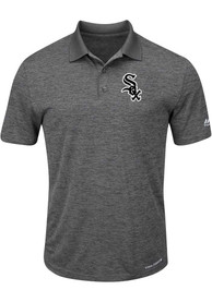 Chicago White Sox Mens Grey Hit First Polos Shirt