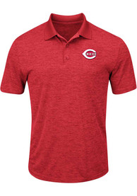 Cincinnati Reds Red Hit First Polos Shirt