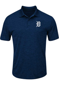 Detroit Tigers Navy Blue Hit First Polos Shirt