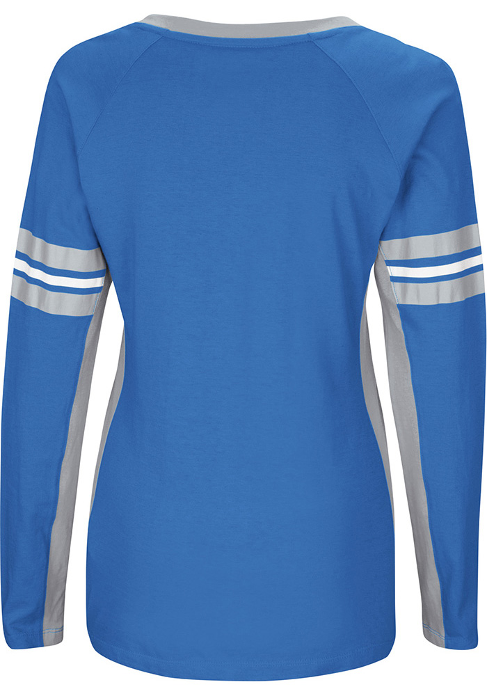 Detroit Lions Womens Blue Winning Style Long Sleeve Plus Size T-Shirt -  Image 2 bedd214ad