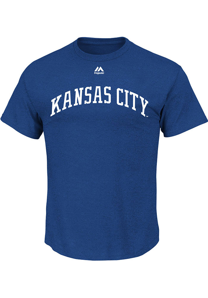 Kansas City Royals Cooperstown Team T-Shirt - Light Blue