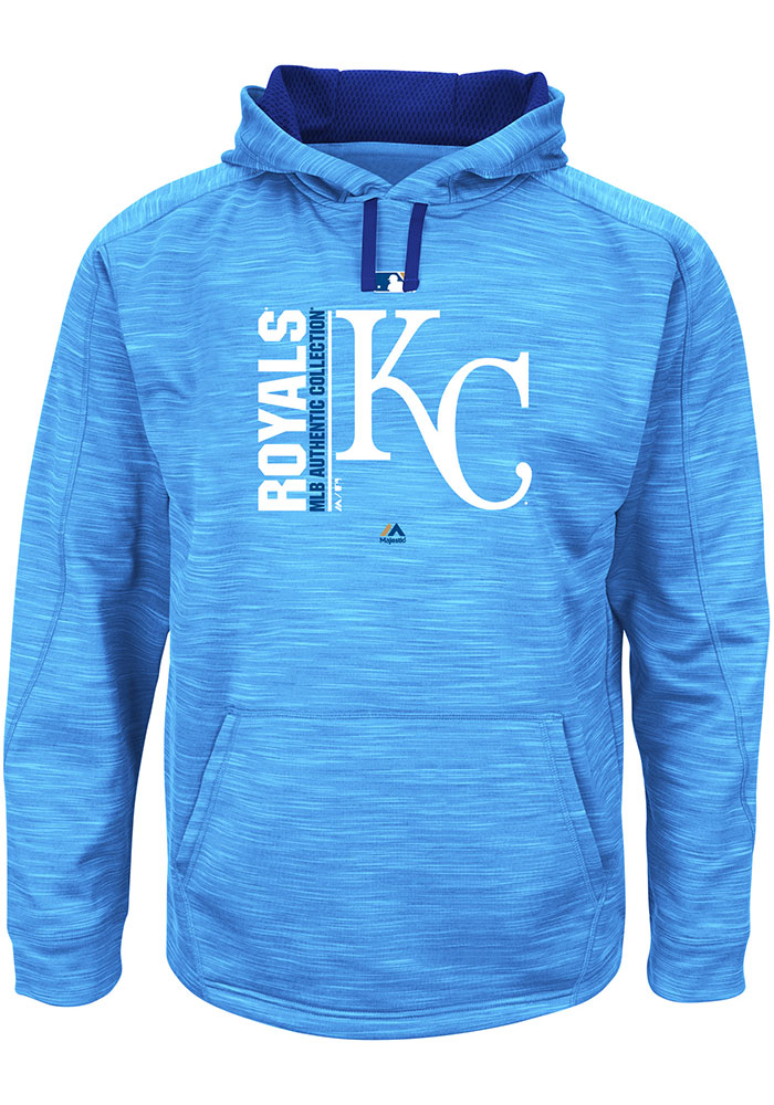 Kansas City Royals Blue Streak Fleece Hooded Sweatshirt