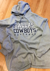 Dallas Cowboys Team Hooded Sweatshirt - Charcoal