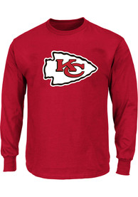 Kansas City Chiefs Logo Long Sleeve T-Shirt - Red