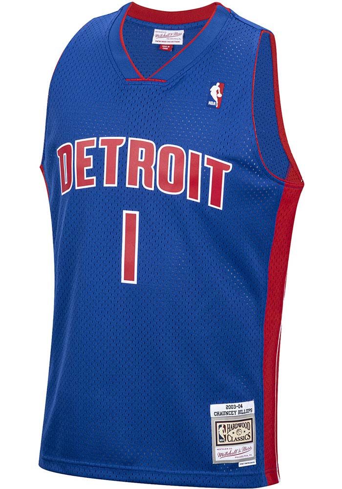 Chauncey Billups Detroit Pistons Profile Throwback Jersey Big and Tall - 2651133