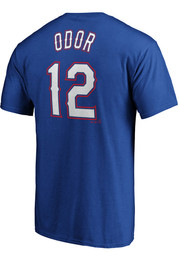 Rougned Odor Texas Rangers Profile Name # Player Tee - Red