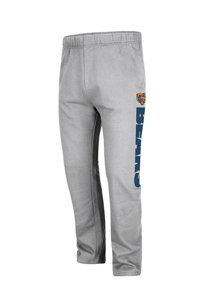 Chicago Bears Mens Grey Steel Heather Big and Tall Sweatpants - Image 1