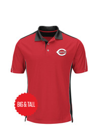 Cincinnati Reds To The 10th Power Polos Shirt - Red