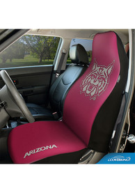 Arizona Wildcats Universal Bucket Car Seat Cover - Pink