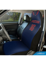 Arizona Wildcats Universal Bucket Car Seat Cover - Blue