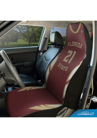 Florida State Seminoles Universal Bucket Car Seat Cover - Maroon