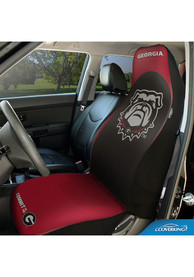 Georgia Bulldogs Universal Bucket Car Seat Cover - Red