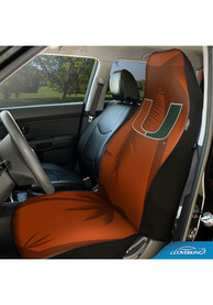 Miami Hurricanes Universal Bucket Car Seat Cover - Red